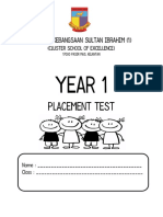 Year 1 Dlp Placement Test