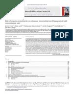 Role of Organic Amendments
