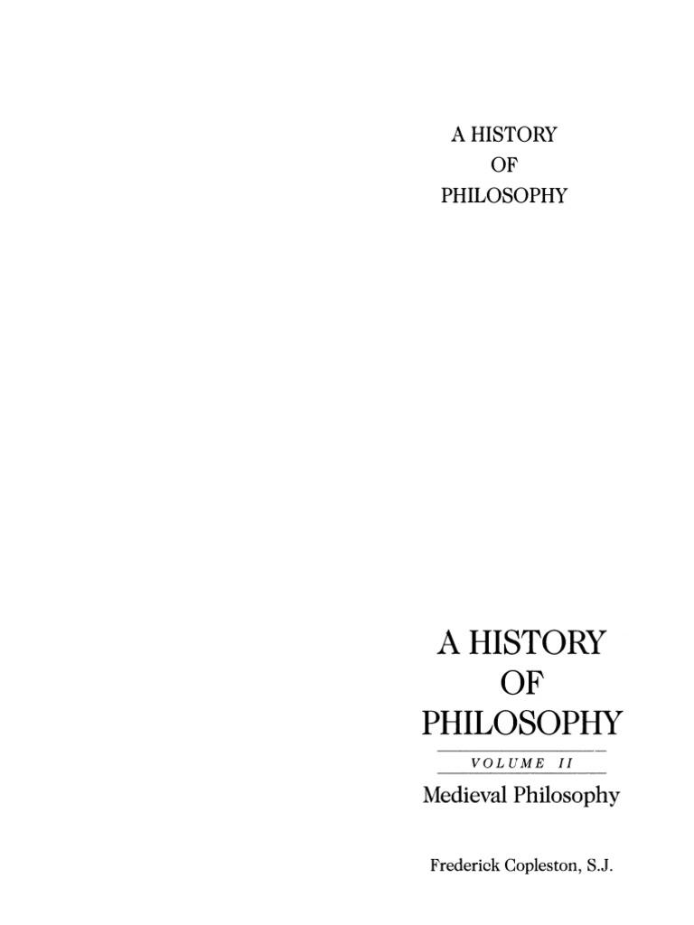 A History Of Philosophy 2 Pdf Thomas Aquinas Medieval Philosophy
