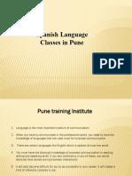 spanish Language Classes - institutes in Pune  | Pune Training Institute