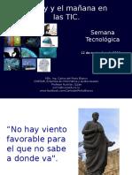 Estado Actual de Las Nuevas Tecnologias Carlos Del Porto