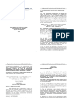 Reglamento de Construcción Centro