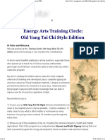 Old Yang Tai Chi Edition Offer