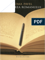 Toma Pavel - Gandirea Romanului Flaubert