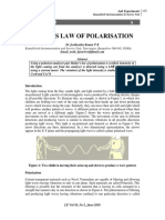 Malu's Law of Polarization