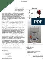 Acetic Acid - Wikipedia BACA