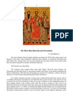 The Three Holy Hierarchs and Geocentrism