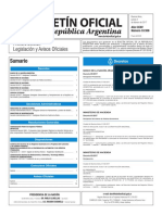 Boletín Oficial de la República Argentina, Número 33.558. 02 de febrero de 2017