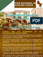 Descentralizacion Prof. Silvio