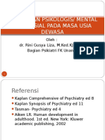 1.5.5.7 - Perubahan Psikologi, Mental Dan Sosial Pada Usia Dewasa