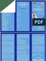 Cosdmfer 2017 Brochure
