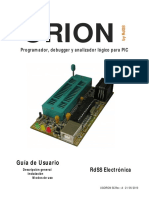 Manual Programador PIC Orion