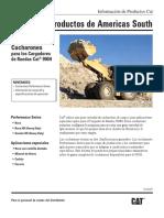 Cargador Frontal Cucharon Pala Finning Caterpillar 990h Buckets Product Bulletin for Am Gsjq2287
