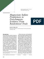 Magnesium for Preeclampsia2005
