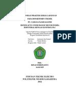 Laporan PKL berbasis PLC