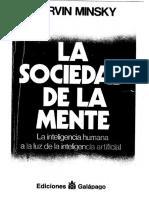 [Marvin Lee Minsky.] La Sociedad de La Mente La(BookZZ.org)