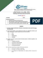 Gabarito Da AP1 de IDPP (2014.1).