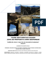 TOURS GEOTURÍSTICO GUIADO- Propuesta Como Geoparke Valle Del Colca y Valle de Lo Volcanes