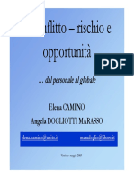 Conflitto Rischio e Opportunita Slides