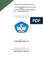 Laporan Pembinaan Perjusami Hu Pramuka 2015