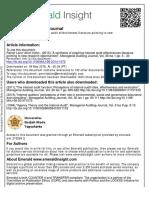 Effectiveness of Internal Audit 2