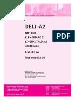 Ail Deli-A2 Test Modello 10