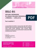 Ail Dilc-b1 Test Modello 9
