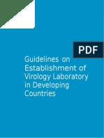 WHO - Guidelines on Establishment of Virology Laboratory (1)