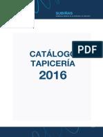 Catalogo Tapiceria