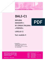 Ail Dali-c1 Test Modello 9