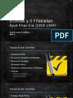 Ayub khan economic regime