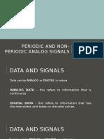 Periodic and Non-periodic Analog Signals