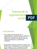 Teorias de La Argumentacion Juridica