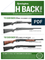 Remington Shotgun Rebate