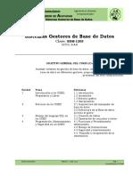 Sistemas Gestores de Base de Datos Unidad 1