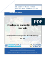 Developing Domestic Capital Markets IFC World Bank Group IATF Issue Brief