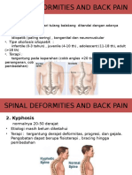 Spinal Deformities and Back Pain