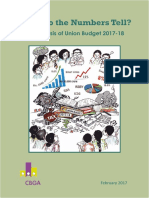 CBGA & EQUALS Analysis of Union Budget 2017-18