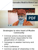 Stratergies to Wins Heart of Muslim Community