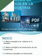 Ahorro de Enegía en La Industria
