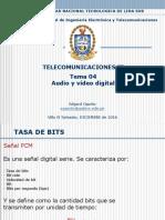 TEMA 04 - Audio y Vídeo Digital