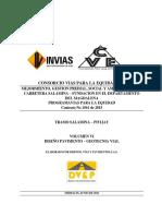 Contrato No 1561-Voluemne VI Diseño Pavimentos - Geotecnia Vial 05-09-2016bis