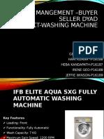 IFB Elite Aqua SXG Fully Automatic Washing Machine
