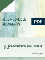Registro y Garantias