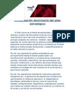 Actualización doctrinaria
