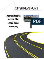Administrative Action Plan for Roadways 2017 for the Web
