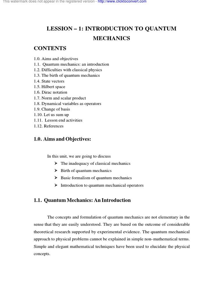 Physics Quantum | Quantum Mechanics | Condensed Matter Physics