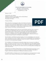 Invitation to Congressman Chaffetz
