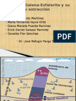 Flotación Galena-Esfalerita y Su Proceso de Extracción