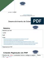 Php - Aula_09 Extra - Paginação e Relatorio Em PDF